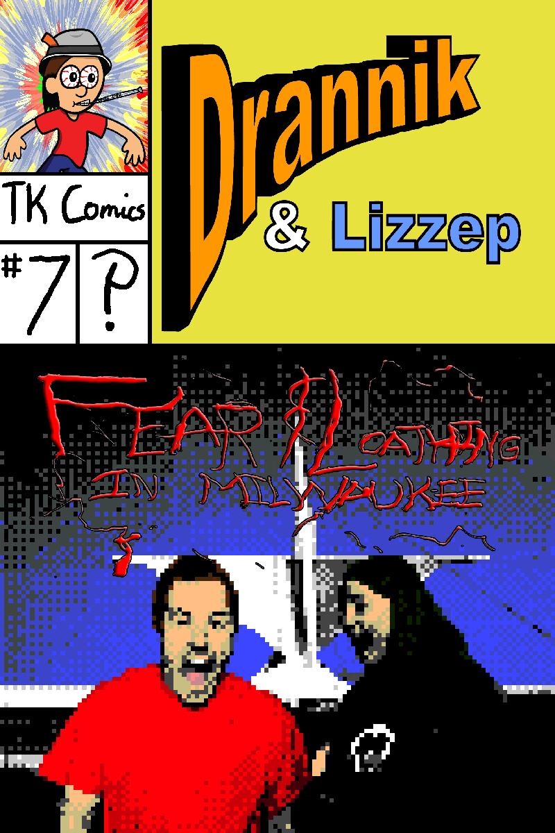 Drannik & Lizzep #7 Cover