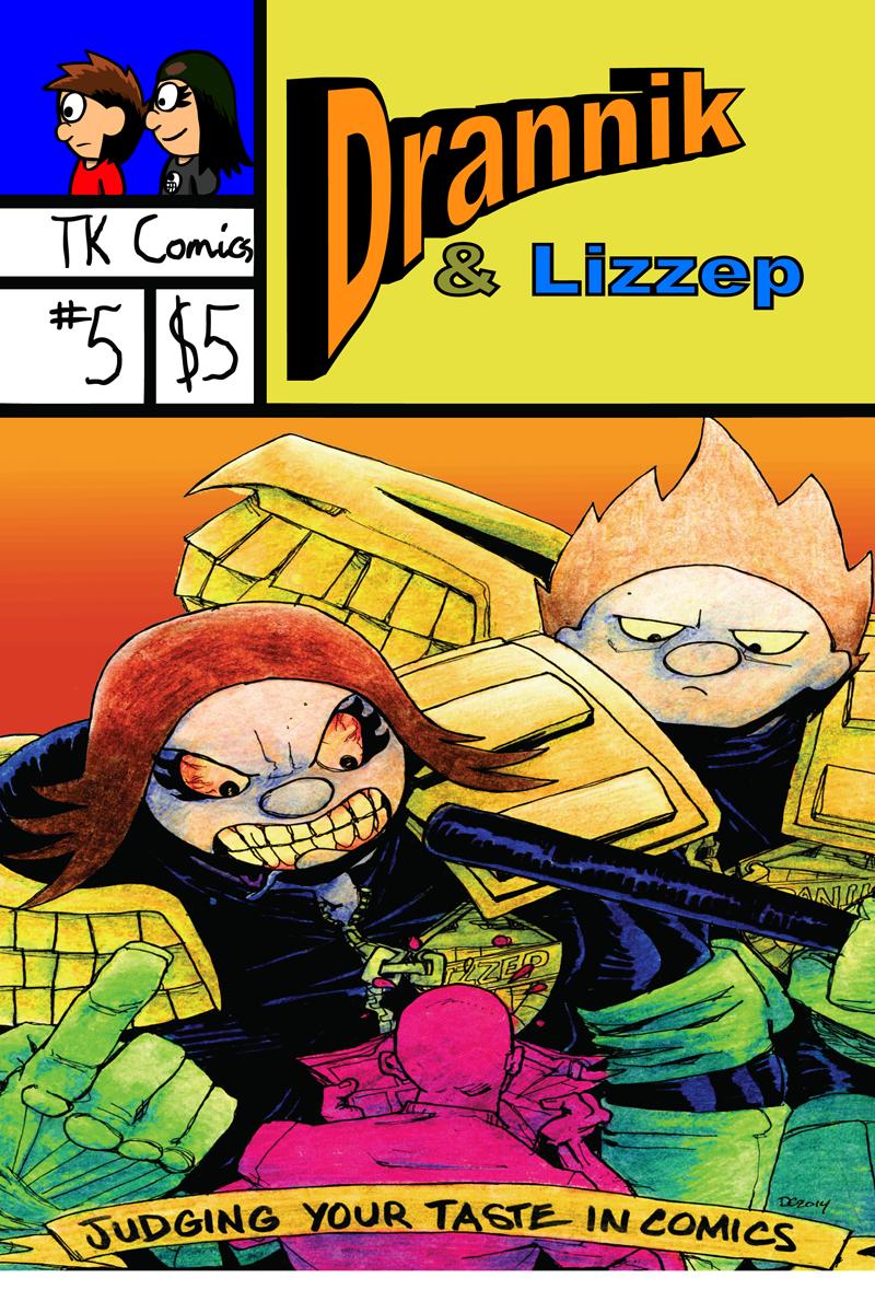 Drannik & Lizzep #5 Cover