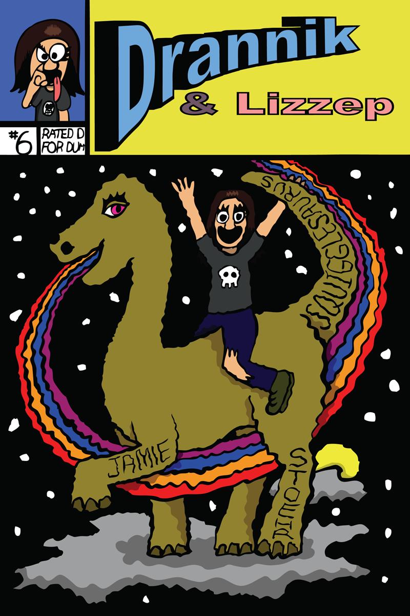 Drannik & Lizzep #6 Cover