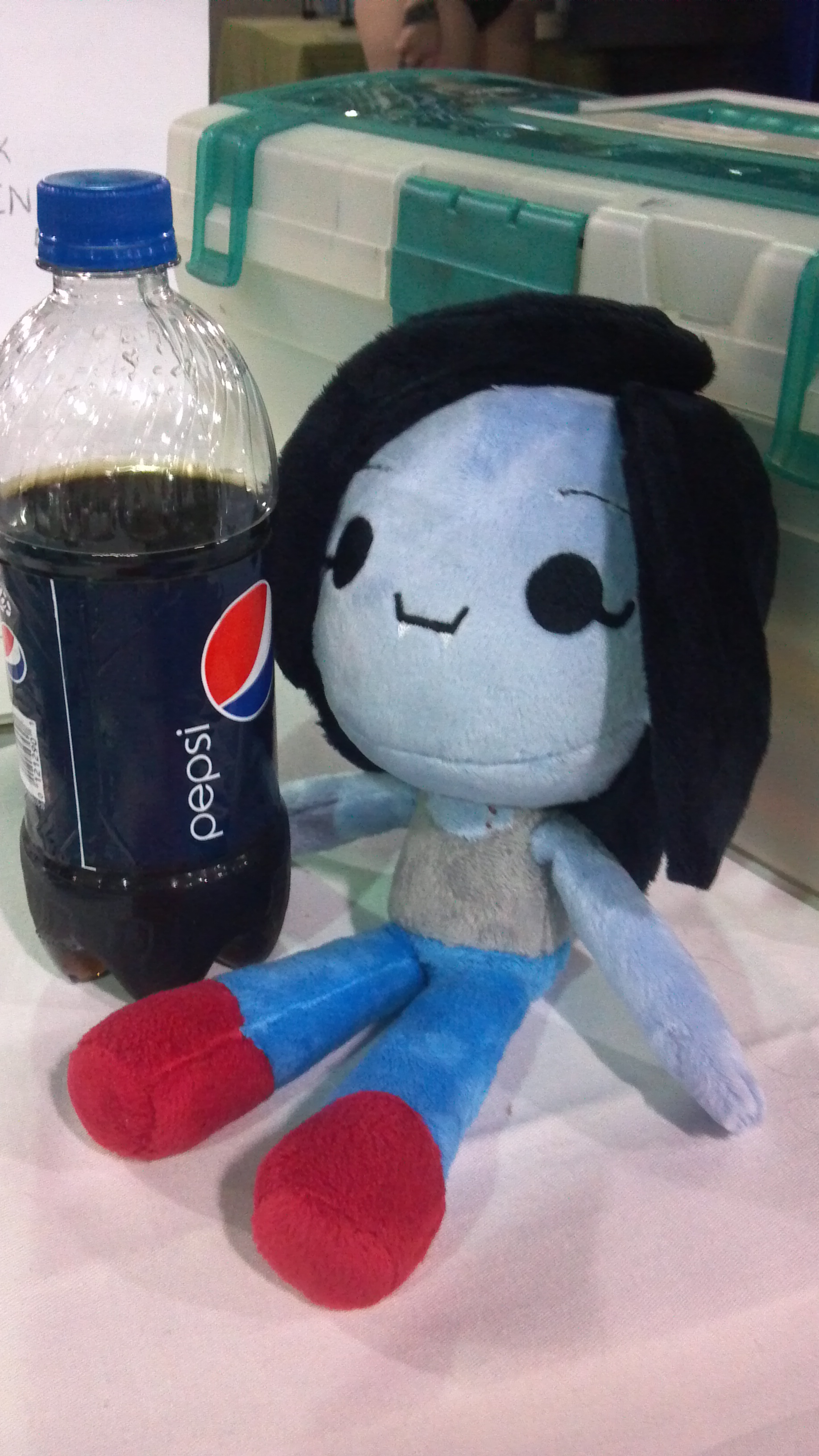 Doll with Pepsi
