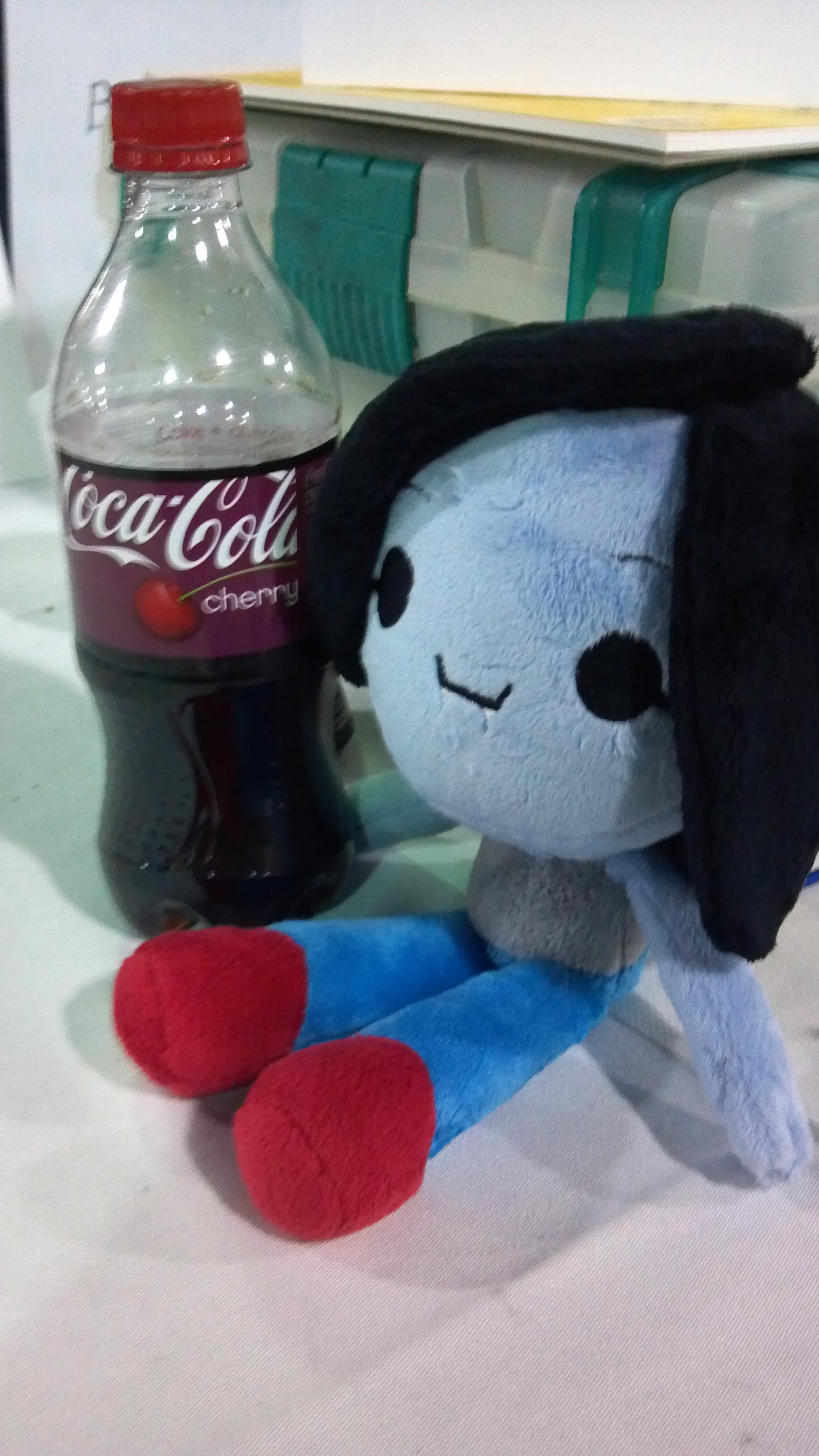 Doll with Coke
